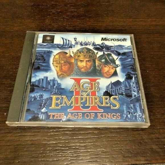 AGE OF EMPIRES 2 THE AGE OF KINGS for PC 1999